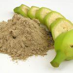 O poder da farinha de banana
